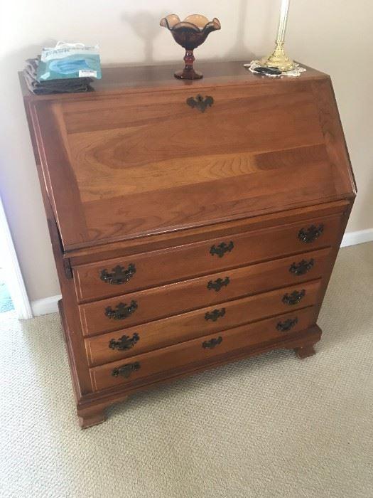 4 Drawer Vintage Writing Desk $ 224