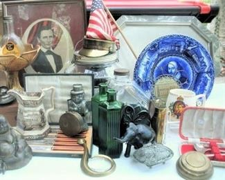 Over 150 boxes that have been stored for years....Amazing antiques and collectibles....all fresh and new antique items this year, again....you will love the shopping.