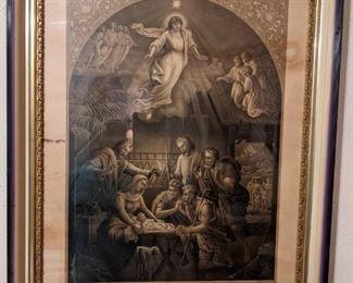 Antique Gospel Print