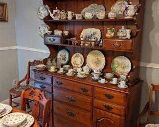 Hardrock Maple Welsh Cabinet