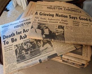 Lots of Old Special Event Newspapers