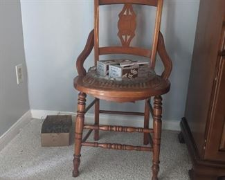1 of 6 East Lake dining chairs