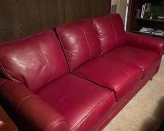 Bassett Leather Sofa
