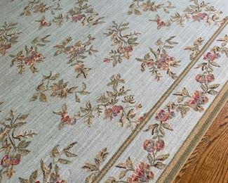 Beautiful Needlepoint Area Rug by Stark Carpet