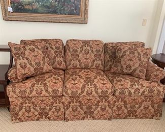 Floral 3 Cushion Tapestry Sofa by Hickory Chair...we have a pair!