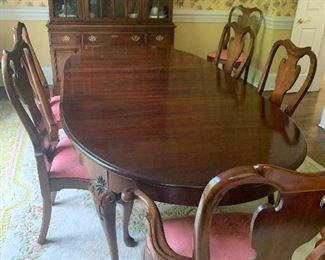 Statton Dining Table Old Towne Finish with 2 Leaves