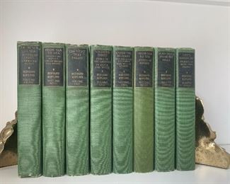 8 Volume Set Rudyard Kipling Novels