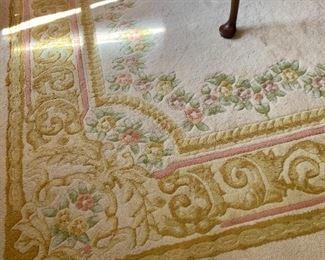 Hand Woven 100% Wool Area Rug...Oriental Design