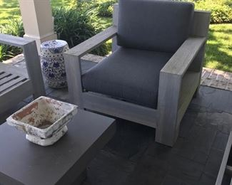 Photo of  patio furniture with cushions