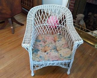 Bar Harbor wicker chair