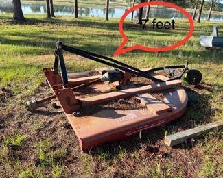 7 foot mower
