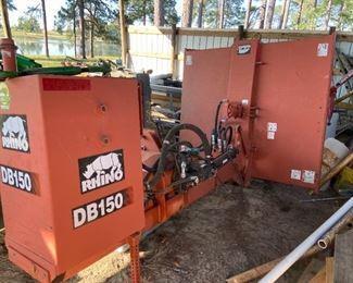 Rhino DB150 Ditch Bank Mower
