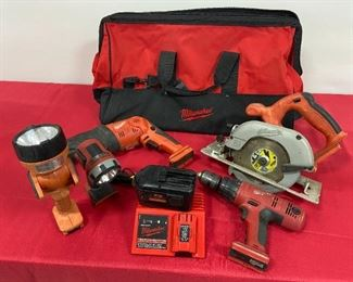 Milwaukee Battery Operated Set