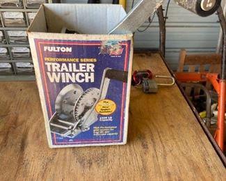 Trailer Winch
