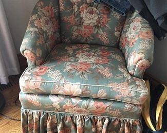 adorable chintz floral chair