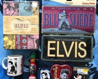 Elvis 9 item lot