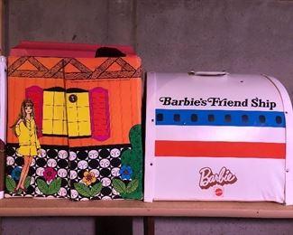 Barbie Family house; Barbie's Friend Ship.