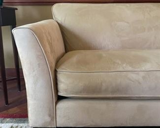 "Pottery Barn Sofa - 86""W x 36""D x 32""H - $260"