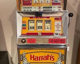 HARRAH'S SLOT MACHINE / WORKING