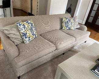 Oversized sofa 9ft - 4 ft deep