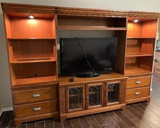 Ashley furniture entertainment center!  Like new!