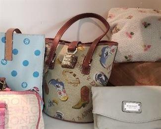 Dooney & Burke purses, designer purses