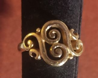 James Avery Gold Ring