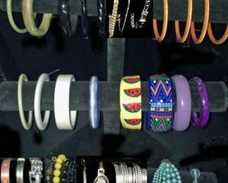 Bracelets: Semi-Precious, Costume & Fun.