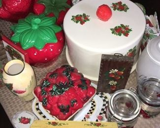 Strawberry Cake Cover, Strawberry Tole Painting,