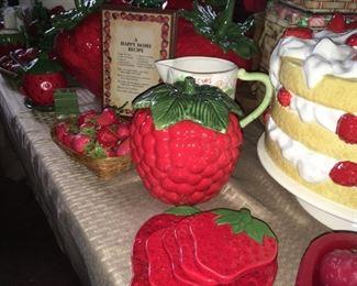 Strawberry Jam Jar? Strawberry coasters