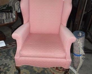 Nice wing back chair