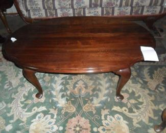 Queen Ann style coffee table