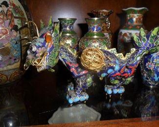 Cool Cloisonne dragon