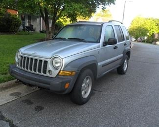 2006 Jeep Liberty with 130,000 miles