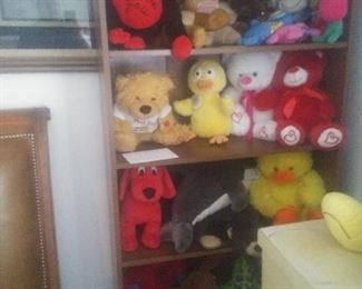 Lots of stuffed animals