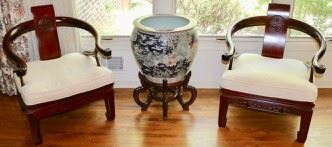 Asian Furniture and Porcelain
