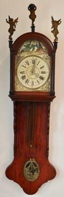 Antique Continental Wall Clock