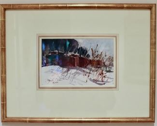 Original Watercolor Ray Ellis