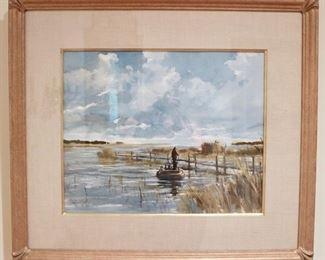 Original Watercolor by Ray Ellis