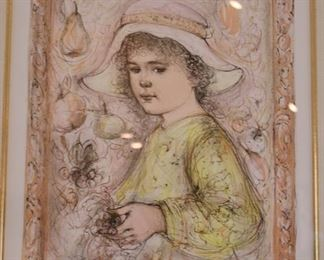 Signed & Numbered Edna Hibel