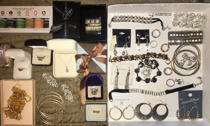 Jewelry, Earrings, Bracelets, Necklaces, Watches