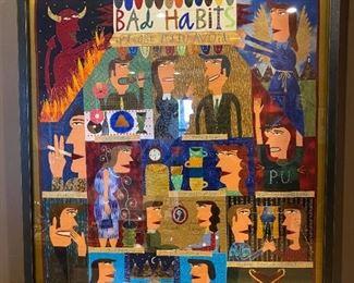 Bad Habit cartoon art