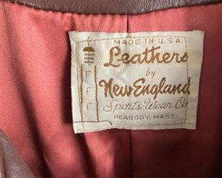 Leathers by New England
