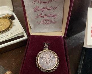 American pendant