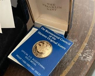 Franklin mint coin