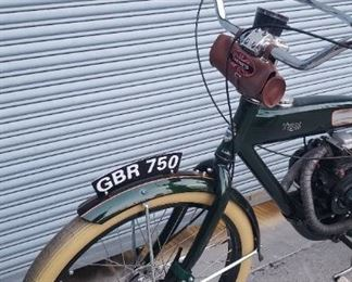 gas power bicycle