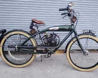 Vintage looking bicycle