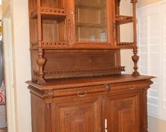 Over 150 year old, very tall sideboard