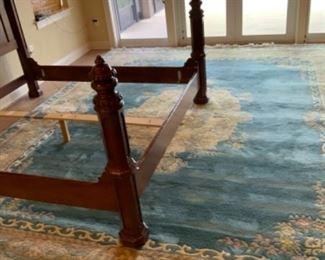 1960's Oriental Wool Carpet