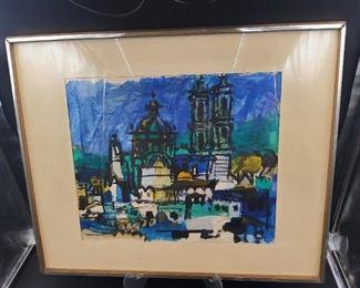 1956 Watercolor by BillCondon